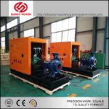 De beweegbare Diesel van de Aanhangwagen Pomp van het Water voor Irrigatie en de Drainage van de Vloed