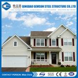Villa en acier bon marché modulaire préfabriquée d'approvisionnement de la Chine