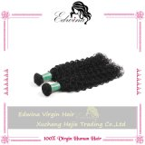 5A Grade Natual 중국 Unprocessed Kinky Curly Virgin Human Hair