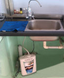 Undersink Kangen Ionizer (Japan-Technologie-, Taiwan-Hersteller) +Built-in zugelassener Filter
