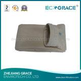 Sacchetto filtro del poliestere dell'alloggiamento del sacchetto del ciclone