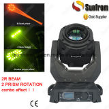 2 Prism Sharpy 120W 2r Beam Moving Head Lighting