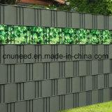 cerca del jardín de la pantalla de la tira del PVC de la Doble-Impresión 630g el 19cm*35m de la resistencia 100%UV