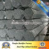 Lista de preço galvanizada da tubulação de aço de carbono do MERGULHO quente de ERW