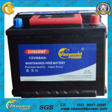 Fornecido pela fábrica Top DIN68mf 12V68ah Sealed Mf Car Battery 56818mf