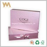 Caixa de presente Handmade impressa personalizada do papel da jóia para a embalagem