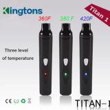 Hete Titaan 1 de Droge Verstuiver van het Kruid met de Batterij van 2200 mAh