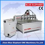 다중 스핀들 3D 목제 CNC 대패 중국 CNC 축융기