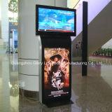 Uno mismo del acceso de aire que coloca a jugador doble del anuncio del LCD de la cara