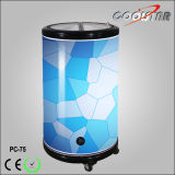 O refrigerador comercial redondo do partido da bebida do tambor Cooler/75L/Portable ao ar livre pode o refrigerador (PC-75)