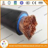 Kupfer-50mm2 oder Aluminiumlegierung-Leiter-Flexgummihüllen-Schweißens-Kabel