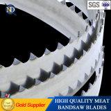 Высокоомные лезвия ленточнопильного станка биметаллической прокладки для стального материального массового производства