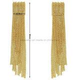 Geplateerde Eardrop van de Juwelen van de Leeswijzers van het messing Oorringen voor Dame (KE3100)