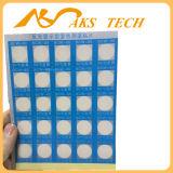 Calibro a temperatura elevata di colore del documento termico autoadesivo del cambiamento