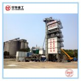 Planta del asfalto de la protección del medio ambiente de 80 t/h con el silo desmontable