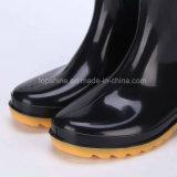 PVC bon marché Rainboots de chaussures de sûreté de travail d'hommes de mode