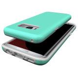 Samsung S8를 위한 어려운 도금 단추 셀룰라 전화 상자 플러스