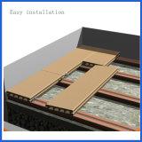 Le bois classique et la surface composée en plastique ont sablé le Decking de WPC