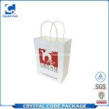 カスタム印刷の防水白いクラフト紙袋