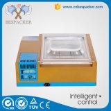 Mini empaquetadora compacta del vacío del compartimiento del doble del sellador del alimento del vacío del embalaje del vacío de la dimensión de una variable