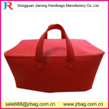 Saco de armazenamento de feltro vermelho de grande capacidade para mercadorias