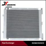 Réfrigérant à huile en aluminium de barre de plaque de haute performance pour le chat E320c