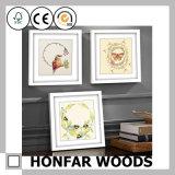 Het natuurlijke Stevige Houten Frame van de Foto van het Beeld voor de Decoratie van de Staaf van de Salon
