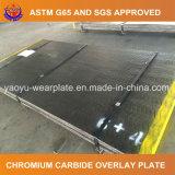 Piatto d'acciaio bimetallico resistente all'uso