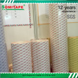 Adherencia inicial fuerte de la alta calidad de Somitape Sh329 de cinta de papel para la industria de publicidad