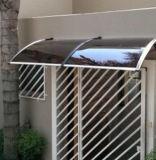 Coperchio rispettoso dell'ambiente economico della pioggia per i disegni del baldacchino della parete del balcone