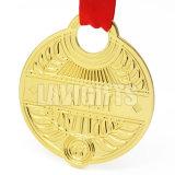 Medaglia commemorativa della moneta dell'oro del metallo di sport del campione incisa abitudine 3D della fabbrica