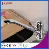 Robinet de bassin de cuisine de bec de traitement simple de Fyeer long