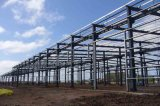 Oficina de la estructura de acero y taller y almacén prefabricados ligeros
