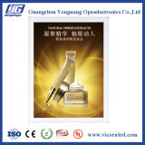 caixa leve magnética de alumínio do diodo emissor de luz da espessura de 30mm