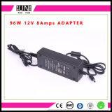 8AMPS DC12V/DC24V 96W LEDの電源、8AMPS LEDのアダプター、12V 96Wのアダプター、96W充電器