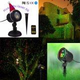 Luz ao ar livre clara do duende da luz da estrela do laser do jardim para a decoração da árvore