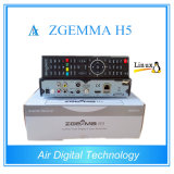 Приемник Zgemma H5 цифров TV приемника DVB-S2 DVB-T2/C комбинированный HD с H. 265 Hevc поддержки операционной системы Linux