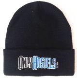 Chapéu bordado nenhum tampão do Knit do chapéu do Beanie dos Eaves