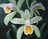 Картина маслом - цветок 2