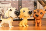 مختلفة [بوبّلينغ] رئيسيّة كلب مصغّر تمثال صغير