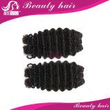7Aマレーシアのバージンの毛のまっすぐなRemyの人間の毛髪まっすぐな3束のマレーシアのStragithの毛の拡張バージンのMaylasianの毛の