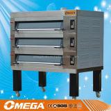 Equipo aprobado de la panadería de la hornada de la hamburguesa del CE para el horno de la cubierta (D3L/3T)