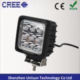 새로운 사각 4inch 12V 27W LED 광업 일 램프