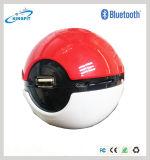 Pokeball de vente chaud Pokemon vont haut-parleur sans fil de Bluetooth de jeu d'USB
