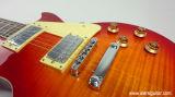 Гитара Lp клена пламени Redburst верхней части свода сбор винограда Aiersi твердая электрическая