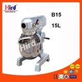 Электрическая машина выпечки оборудования гостиницы оборудования кухни машины еды оборудования доставки с обслуживанием BBQ оборудования хлебопекарни Ce смесителя еды 15L (B15)