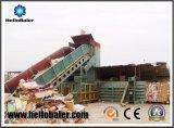 Machine de emballage horizontale automatique de grande capacité pour des affaires de recyclage des déchets