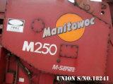 Grue de chenille de Manitowoc M250 (250t)