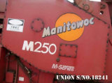 Grúa de correa eslabonada de Manitowoc M250 (250t)