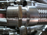 Manguito acanalado flexible del metal del acero inoxidable SUS304